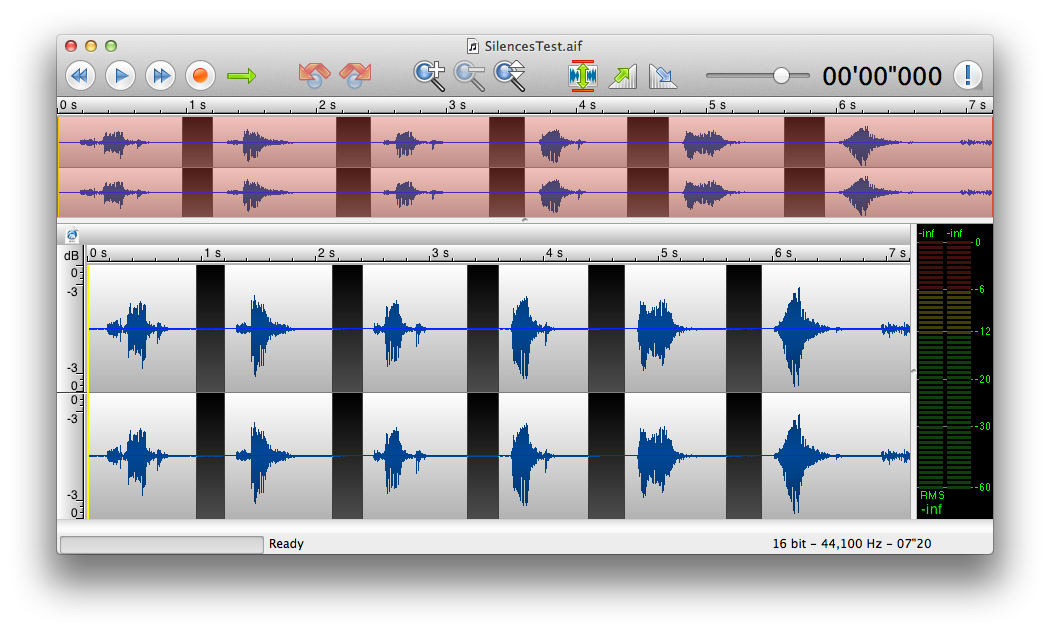 TwistedWave, an Audio Editor for Mac