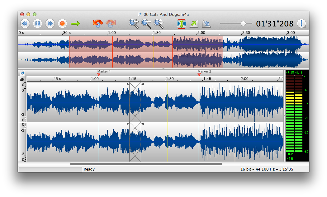 Twistedwave An Audio Editor For Mac