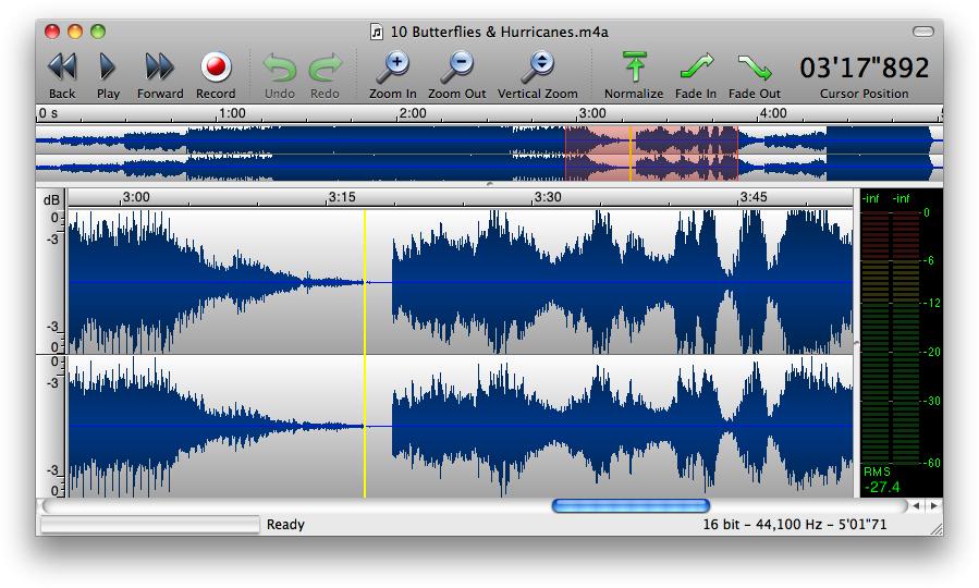 аудиоредактор на Mac - фото 9